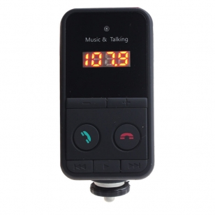 FM Transmitter USB/SD en bluetooth