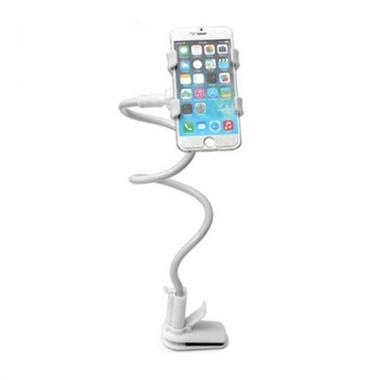 Telefoonhouder met flexibele arm wit