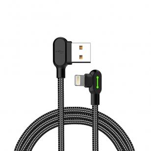 Mcdodo nylon haakse Lightning kabel 1,2 meter