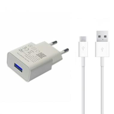 Micro USB oplader 1 meter - 2 ampère