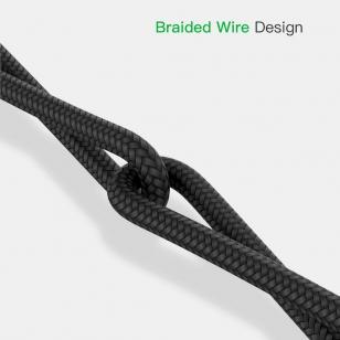 USB-C kabel male-male 1 meter zwart