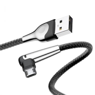 Baseus haakse omkeerbare micro USB kabel 1 meter