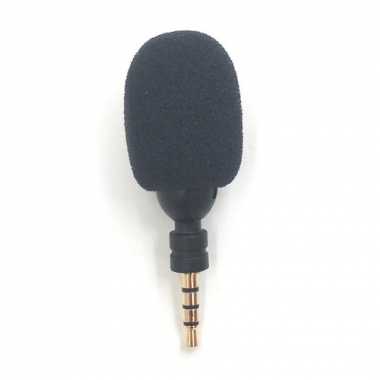 Mini microfoon met 3,5 mm mini jack aansluiting draaibaar