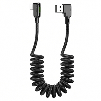 Mcdodo nylon gekrulde USB-C kabel haaks